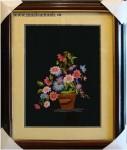 Tranh thêu Giò hoa lan T016