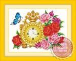 Tranh thêu chữ thập: Hoa hồng 6